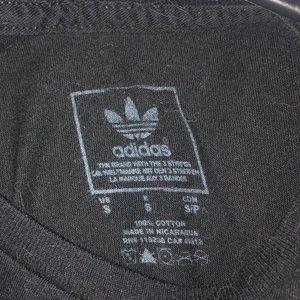 Black and gold adidas shirt!